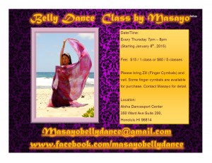 Bellydance Class by Masayo